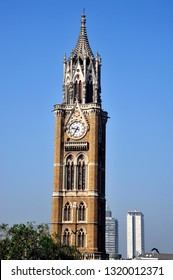 MUMBAI, MAHARASHTRA, INDIA- Jan. 08, 2017 :The Rajabai Clock Tower was designed by Sir George Gilbert Scott, an English architect. located in University of Bombay World Heritage Sites in 2018.