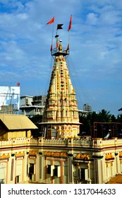 Mumbai; Maharashtra; India - March 10; 2011; Place of worship Mumbai; Maharashtra; India - March 10; 2011; Place of worship Mumba Devi Mandir is an old temple dedicated to the goddess Mumbā;