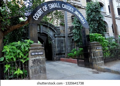MUMBAI; MAHARASHTRA; INDIA- Sept. 02; 2012 : Court of Small Causes 125 years old Situated at Lokmanya Tilak Road Opp Metro cinema Dhobi Talao