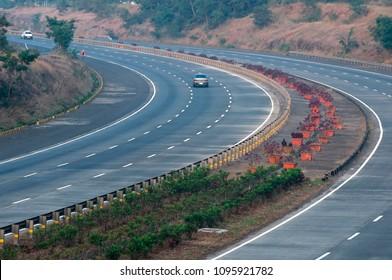 The Mumbai Pune Expressway.