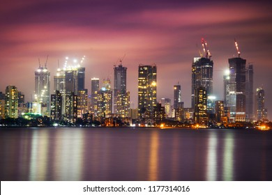 Mumbai Skyline Under Construction