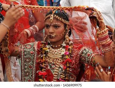 mumbai/india- 08/12/2019 wedding ceremony in india