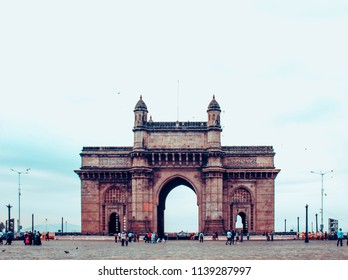 Mumbai,Maharashtra, India,May,16,2018: Gate Way Of India, monument landmark ,Mumbai, Maharashtra, India.