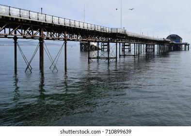 Mumbles pier - Swansea, Wales, UK