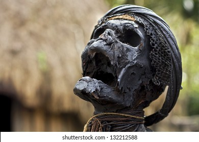 mummy in the Balim valley