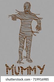 The mummy vintage