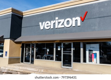 Muncie - Circa January 2018: Verizon Wireless Retail Location. Verizon is One of the Largest Technology Companies
