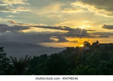 Munduk, Bali - Sunset