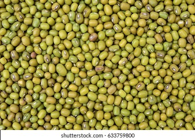Mung beans background texture, background pattern