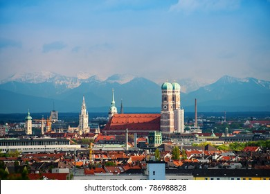 Munich Alps Panorama