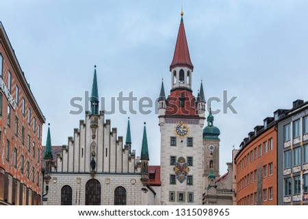 Munich Bavaria Germany December