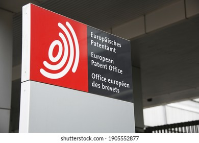 Munich, Bavaria, Germany - June 22, 2019: European Patent Office headquarters in Munich, Germany - EPO is an organ of the European Patent Organisation