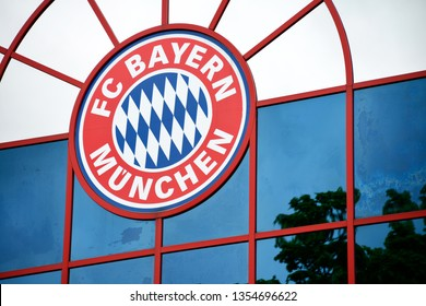 Munich, Bavaria / Germany - May 7, 2012: Headquarters of Bayern Munich in Saebener Strasse in Munich, Germany - FC Bayern München is the most successful club in German football history
