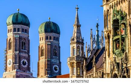 Cathédrale de Munich - Liebfrauenkirche à Munich - Allemagne