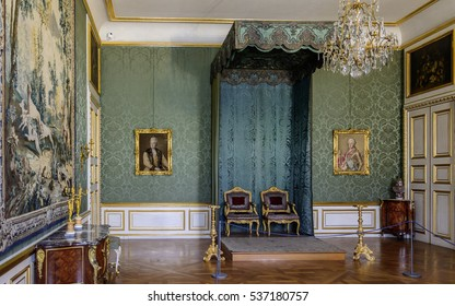 MUNICH, GERMANY - 05 MAY 2016: Interior of the Electoral Room (Kurfurstenzimmer) in the Munich Residence.  This suite of rooms was used several times by the heir to the reigning elector.