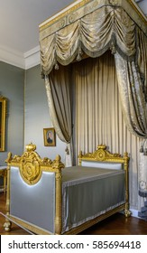 MUNICH, GERMANY - 05 MAY 2016: Interior of the Court Garden and Charlotte Rooms (Hofgarten) in the Munich Residence. This suite contain furnishings that belonged to the first king of Bavaria