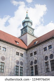 Munich, Germany - 05/12/2018: Residence Courtyards