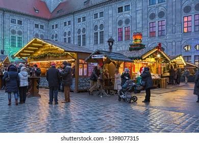 Christmas Village In Germany.Fotos Imagenes Y Otros Productos Fotograficos De Stock