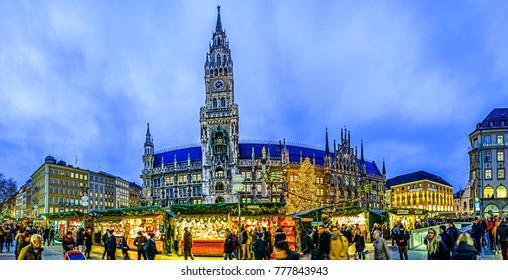 Munich Germany Christmas.Munich Christmas Market Images Stock Photos Vectors