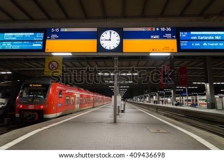 Munich Main Railway Station, Germany