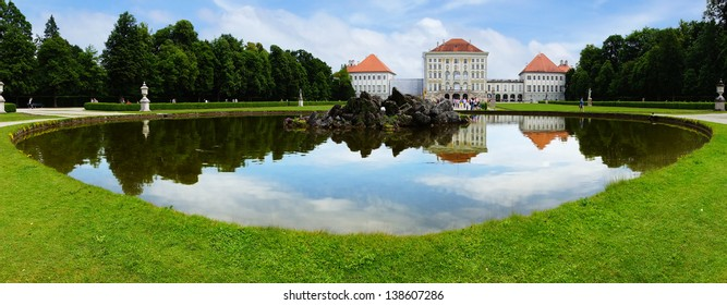 MUNICH, GERMANY - JUNE 07:  Park of the Nymphenburg Palace in June 07, 2012 on Munich, Germany. Nymphenburg Palace was the main summer residence of the rulers of Bavaria.