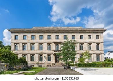 Munich, Germany June 09, 2018: College for Music and Theater (Hochschule für Musik und Theater) in Munich, Germany.