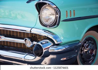 Munich, Germany - June 25,2016: American vintage car