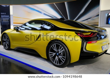 Munich Germany May 19 2018 Bmw Stock Photo Edit Now 1094198648
