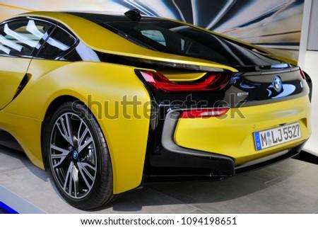 Munich Germany May 19 2018 Bmw Stock Photo Edit Now 1094198651