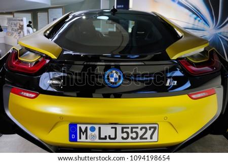 Munich Germany May 19 2018 Bmw Stock Photo Edit Now 1094198654