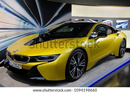 Munich Germany May 19 2018 Bmw Stock Photo Edit Now 1094198660