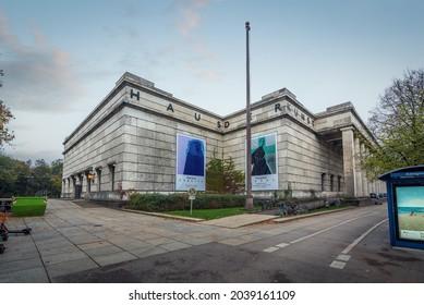 Munich, Germany - Oct 31, 2019: Haus der Kunst Art Museum - Munich, Bavaria, Germany