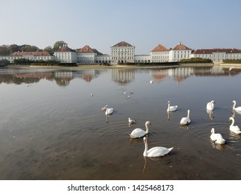 Munich, Germany - October 20, 2018: Nymphenburg Palace in Munich