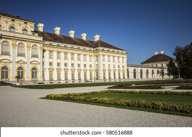 MUNICH, GERMANY - October 5, 2015: Schleissheim Palace in Munich, Germany. Summer residence of bavarian rulers.