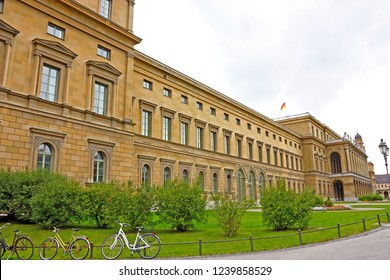 MUNICH, GERMANY - SEPTEMBER 16, 2010: Residenz in Munich, Germany. The Munich Residenz is the former royal palace of the Bavarian monarchs in the centre of the city of Munich