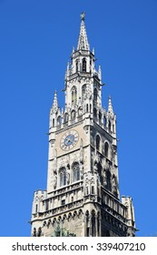 Munich Marienplatz City Hall Tower