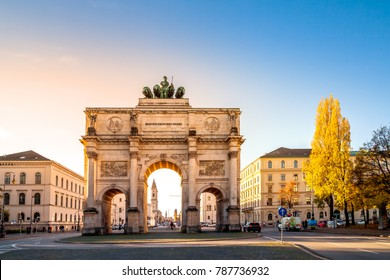 Munich, Siegestor, Germany