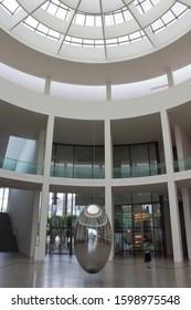 Munich/Germany- 2019: Pinakothek der Moderne Museum in Munich