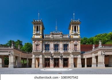 Municipal Casino of San Pellegrino Terme Bergamo Italy.