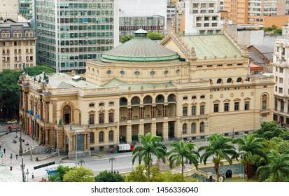 Municipal Theatre of São Paulo (Theatro Municipal de São Paulo), Brazil