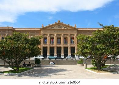 Municipio - public building from Mesina. Sicily