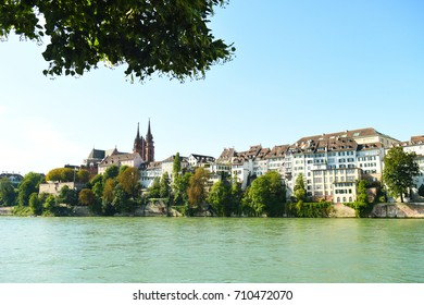 The Munster in Basel, Switzerland on the Rhine River