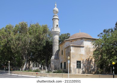Murad Reis mosque on the island of Rhodes, Greece