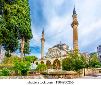 Muradiye Mosque is popular tourist attraction in Manisa City.