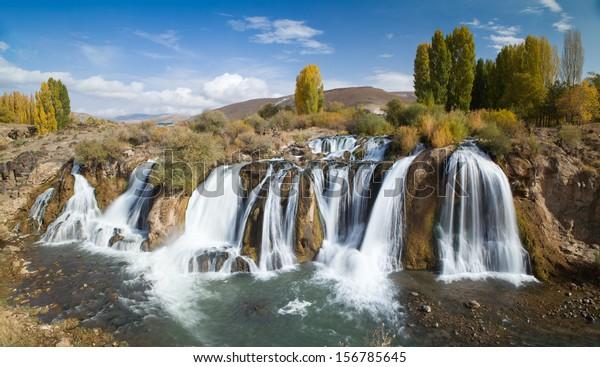 Muradiye waterfalls, East Turkey