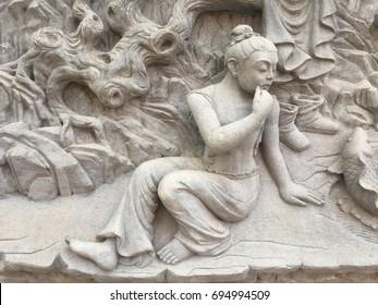 Murals/Stone statue