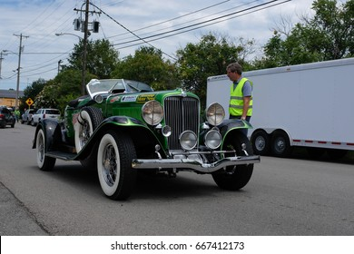 Murfreesboro, TN hosted a stop on the 2017 Hemmings Motor News Great Race Mon. (6/26/2017). The checkpoint timed race covers 2100+ miles from Jacksonville, FL to Traverse, MI. in 9 days.