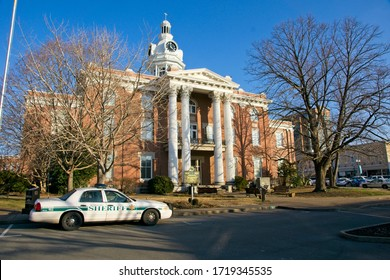 Murfreesboro USA - 10 February 2015 : Rutherford County Courthouse in Murfreesboro in Tennessee USA