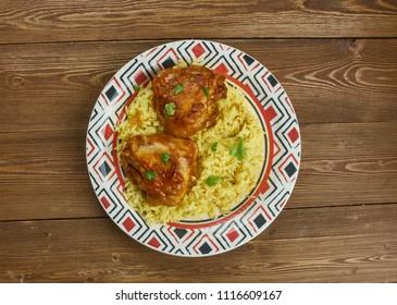 Murgh musallam - Mughlai Style Chicken , North-West Indian Recipe