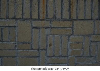 muro di mattoni come sfondo